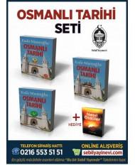 OSMANLI TARİHİ SETİ (3 KİTAP) + ..
