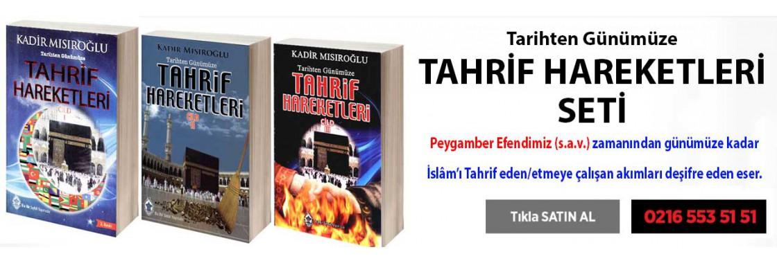 Tahrif Hareketleri Seti