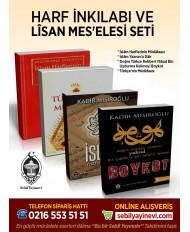 HARF İNKILABI VE LÎSAN MES'ELESİ SETİ (4 KİTAP)
