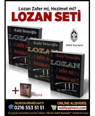 LOZAN ZAFER Mİ, HEZİMET Mİ?! SETİ (3 KİTAP) + HEDİYE